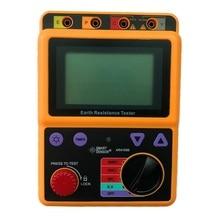 High-precision Digital Earth Ground Resistance Tester AR4105B 0-2000 Ohm 2 Lines 3 Lines Ground Resistance Tester