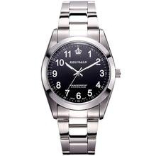 2016 Dress Men's Wrist Watch Quartz Watch Men Stainless Steel Clock Water Resistant