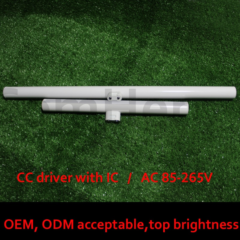 S14D tubos de luz led 3w 6w 10w 12w 15w 300mm 500mm smart controlador de espejo de pared de reemplazo de luz de linestra fábrica ce rohs