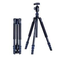 manbily az-300 Professional Portable Aluminium alloy Tripod conversio Travel Monopod DSLR Cameras Tripod panorama head KF-0