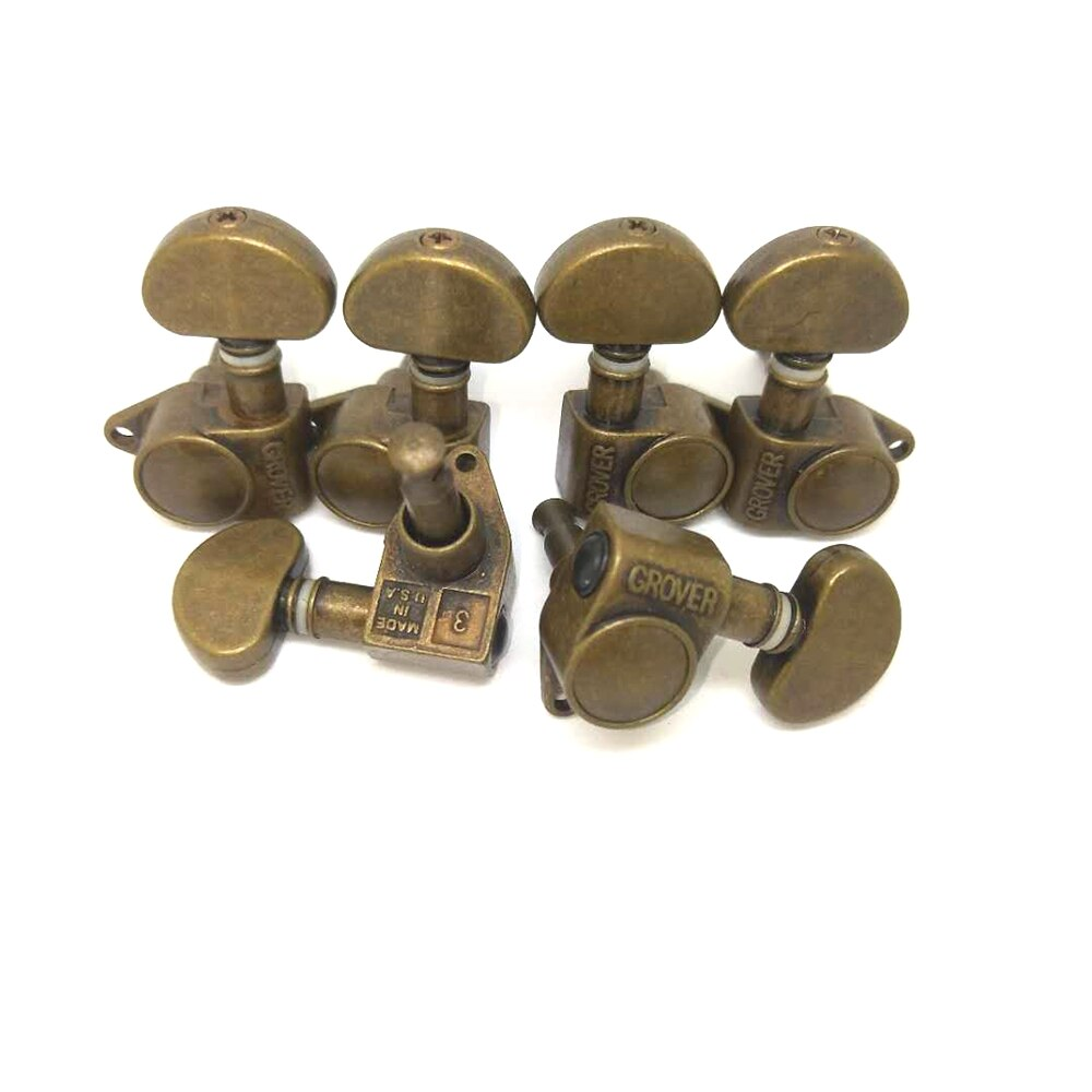 3L3R Vintage Guitar Machine Heads Tuners Tuning Pegs For LP SG Electric Guitar Bronze & Black and Matte gold enlarge