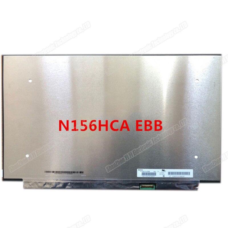 15.6 بوصة محمول lcd مصفوفة شاشة N156HCA-EBB N156HCA انحسار FHD 1920*1080 EDP 30 دبابيس