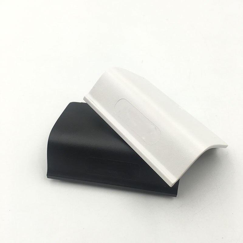 Negro, blanco, paquete de batería contraportada Shell W/logotipo para Xbox un controlador inalámbrico batería tapa