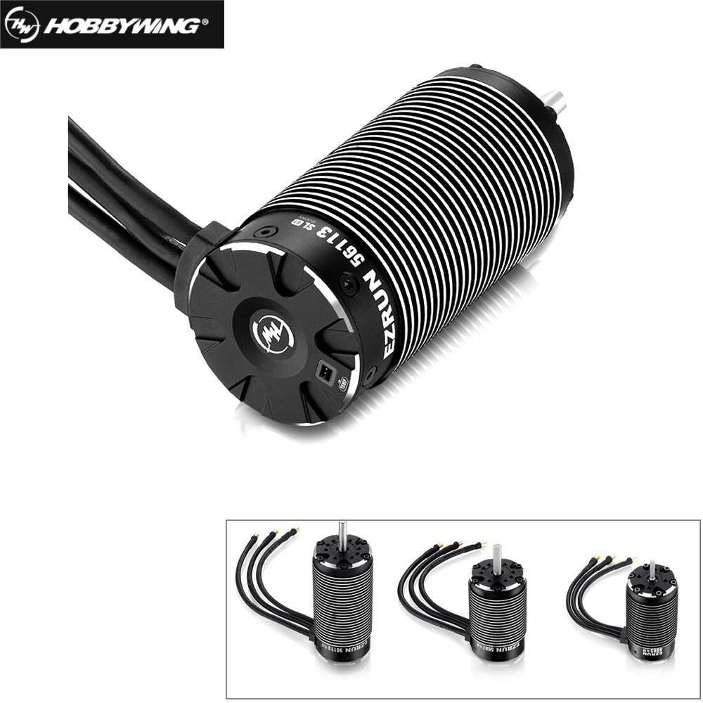 HobbyWing-محرك داخلي بدون فرش للسيارات التي يتم التحكم فيها عن بعد ، EZRUN 4985SL 1650KV /5687 1100KV/ 56113-800KV 3-8S ، 4 أقطاب ، 1/5 1/6 1/7