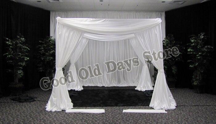 10ft x 10ft x10ft blanco puro boda pabellón
