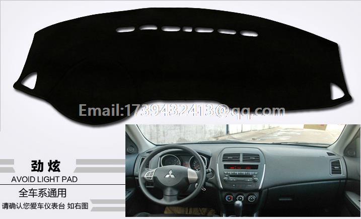 for Mitsubishi asx RVR Outlander Sport 2010 2011 2012 2013 2014 2015 2016 dashmats car-styling accessories dashboard cover