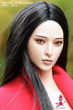 Wondery mobile Eye femelle femmes fille dame 1/6 échelle tête sculpture pour 12