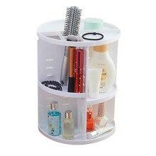 Cosmetic Storage Rack 360 Degree Rotating Cosmetic Display Spinning Rack Storage Box Makeup  a627