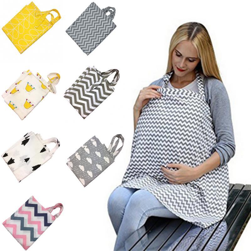 Funda transpirable para madre amamantamiento fundas para lactancia para bebé chal para bebé al aire libre fundas para alimentación funda de delantal almohadillas de maternidad