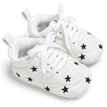 Handsome baby moccasins infant anti-slip PU Leather first walker soft soled Newborn 0-1 years Sneake