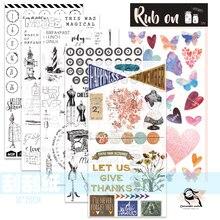 ZFPARTY-autocollants Scrapbooking   Nouveaux Stickers 1 pièces, bricolage, artisanat, fabrication de cartes, projet journillage