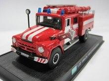 AMER 1/57 escala Vintage coche 1964 ZiL 130-431410 Kazajstán camión de bomberos de Metal fundido modelo de coche de juguete para regalo/Colección