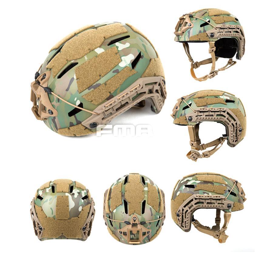 FMA Tactical Airsoft Caiman Ballistic Outdoor Sports  Helmet MC Climbing Helmet
