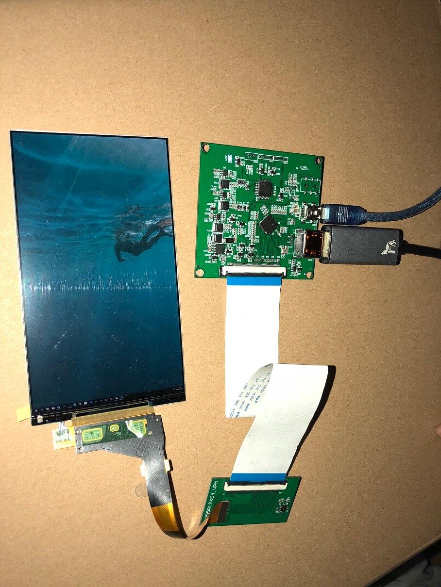 LS055R1SX03 5,5 дюймов 2K LCD 2560x1440 LS055R1SX04 экран дисплея TFT ЖК-панель модуль HDMI Плата