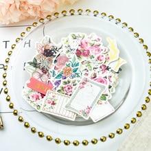 KLJUYP-carte Scrapbooking coloré   52 pièces, doux souriants, découpe de cartes, pour Scrapbooking, planificateur heureux/fabrication de cartes/journement, projet