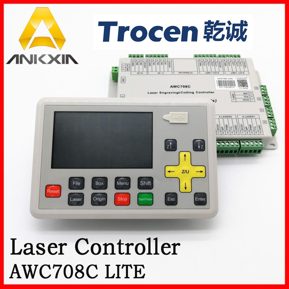 Trocen Anywells AWC708C LITE Co2 sistema de tarjeta de controlador láser para máquina de corte láser máquina de grabado