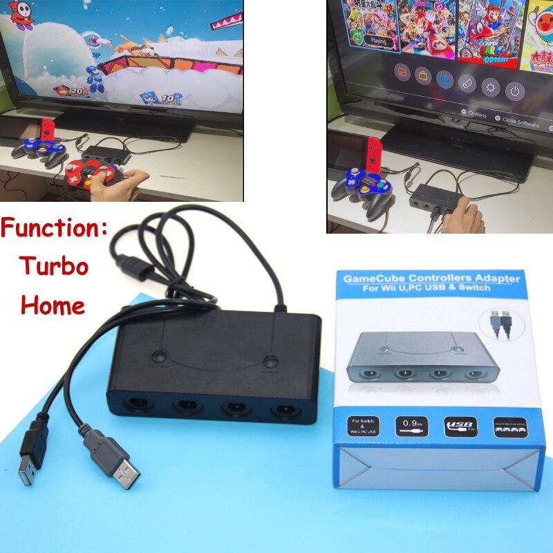2019, adaptador para Gamecube/NG C, 3 en 1, GC a PC, para conversor de adaptador de controlador de Gamecube, PC, USB para Nintendo