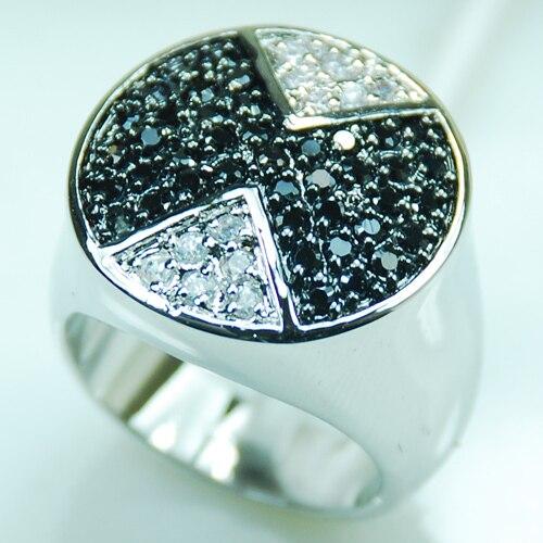 Venta al por mayor y al por menor nuevo anillo de Plata de Ley 925 de cristal de ónix negro envío gratis F362 tamaño de EE. UU. 6 7 8 9 10
