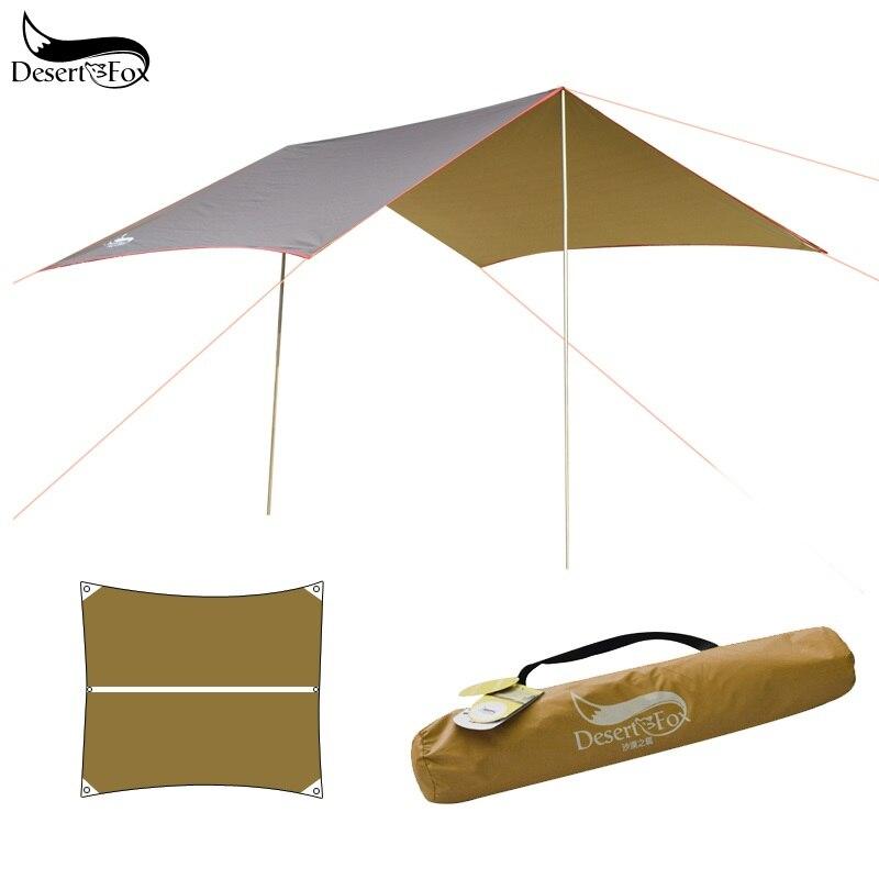 Desert & Fox-خيمة تخييم تمطر ، أرجوحة ، قماش مشمع ، عريشة ، حماية من الشمس ، خيمة شاطئ ، ظل ، جناح ، مظلة