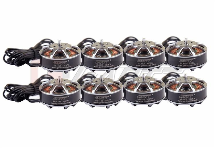 8 Uds Gleagles ML 4108 380KV Motor sin escobillas para multicóptero hexacóptero RC Dron