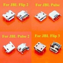 ChengHaoRan 20 stücke 30 50 100 stücke Für JBL FLIP 3 2 Pulse 2 Bluetooth Lautsprecher Micro USB Jack Dock lade Port Ladegerät Stecker