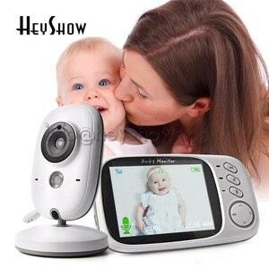 VB603 Video Baby Sleep Monitor 3.2 Inches 2.4G Wireless LCD Two Way Audio Talk Night Vision Surveillance Baba Camera Monitoring
