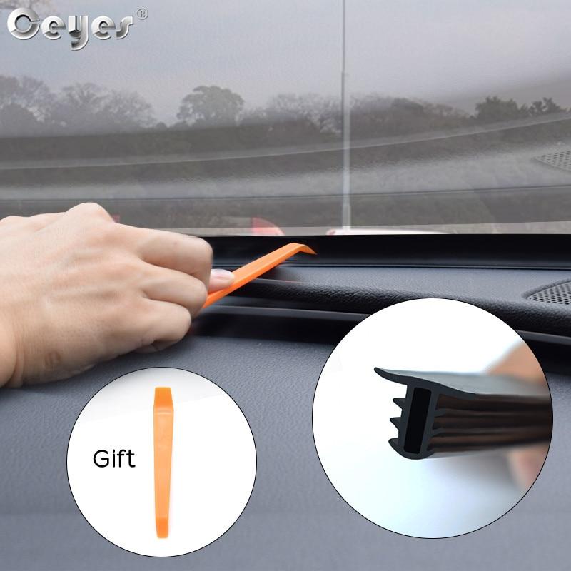 Наклейки на приборную панель, уплотнительные ленты, Звукоизолирующие для BMW сиденье для автомобилья Лада Mazda, авто уплотнение, автомобильные аксессуары для интерьера, резиновый подарок