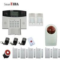 SmartYIBA     systeme dalarme de securite domestique sans fil  GSM  carte SIM 2G  SMS  capteur de mouvement antivol