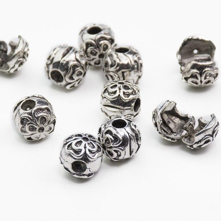 925 Clips Locks Beads Dasies Stopper Bead Charm European Beads Fit Pandora Charms Bracelets & Bangles B00012