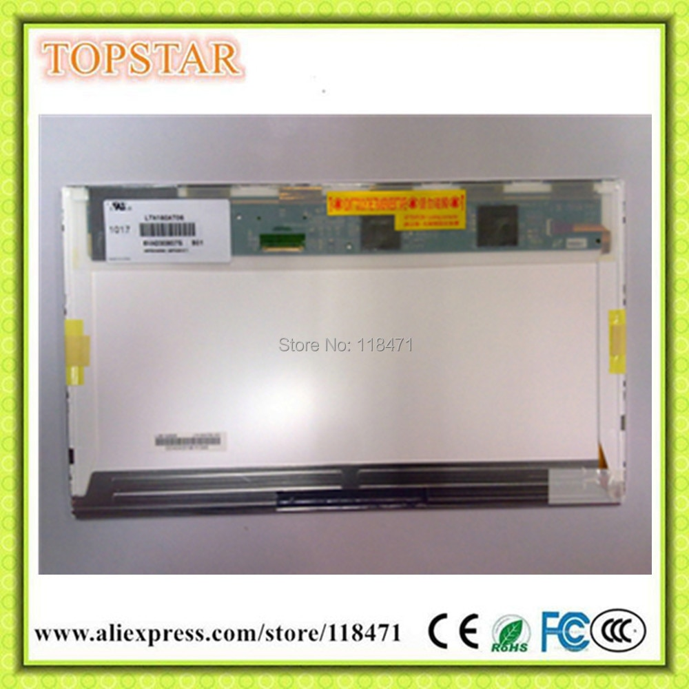 "16,0 ""ordenador portátil pantalla LED LTN160AT06 HSD160PHW1 marca un nuevo + 1366x768 para HP CQ60 CQ61"
