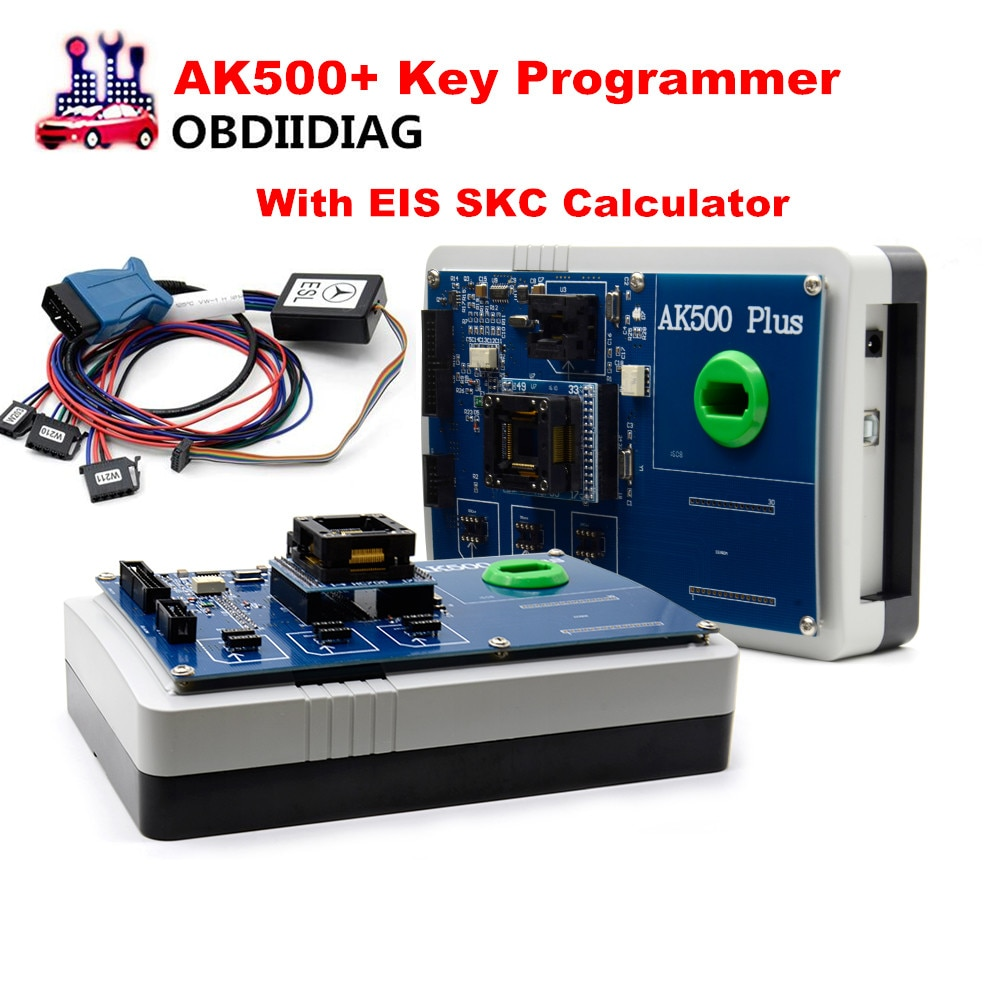 Программатор для ключей AK500 + AK500, forMercedes forBenz с EIS SKC Calculator AK500 Pro, программатор для ключей AK500