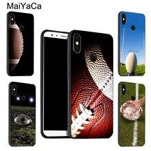 MaiYaCa pelota de Rugby Kit caso de equipo para Xiaomi Redmi Nota 9 8 Pro K30 7 9S 8T 7A 8A Mi 9T 10 Pro 9 Lite A3 Max3 Mix3
