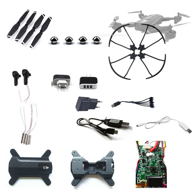 Sg900 SG900-S x196 rc drone peças corpo dobra braço engrenagens motor hélice placa principal fixa capa protetora anel acessórios