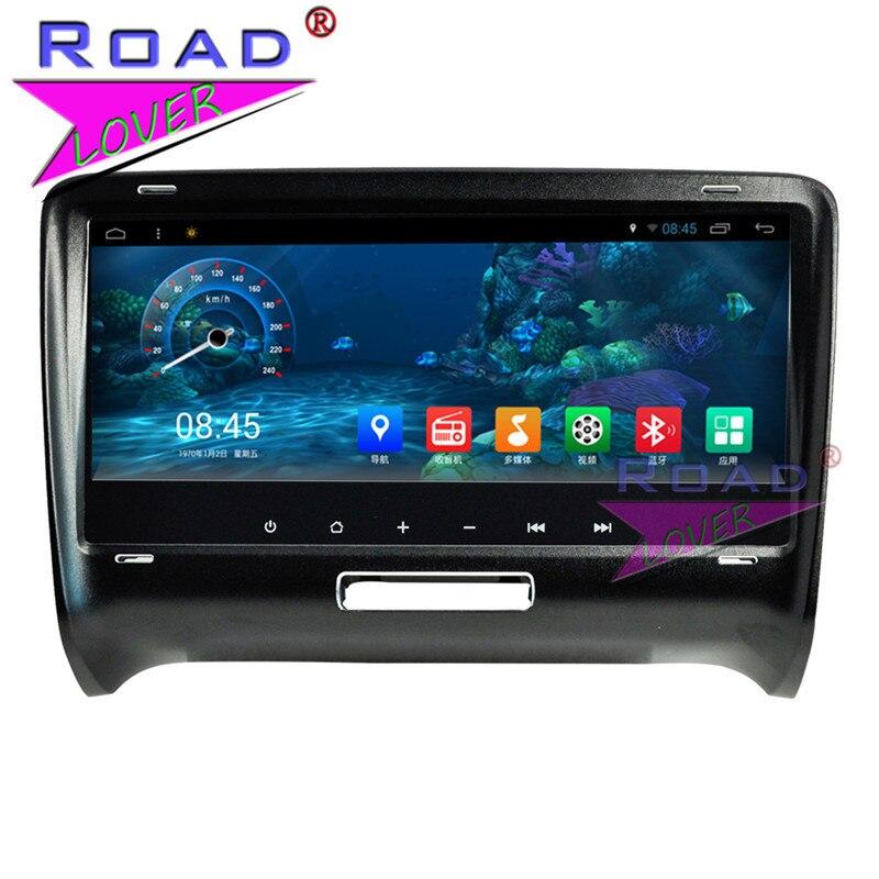 """Roadlover 8,8 """"Android 7,1 GPS para coche de navegación para Audi TT 2006, 2007, 2008, 2009, 2010, 2011, 2012, 2013, 2014 vídeo estéreo 2 Din SIN DVD"""