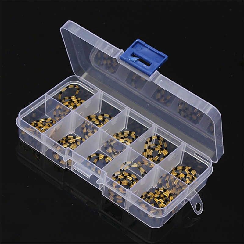 1 pièces 10 fentes clair vide compartiment pilule support de tablette organisateur voyage étui médecine distributeur conteneur boîte