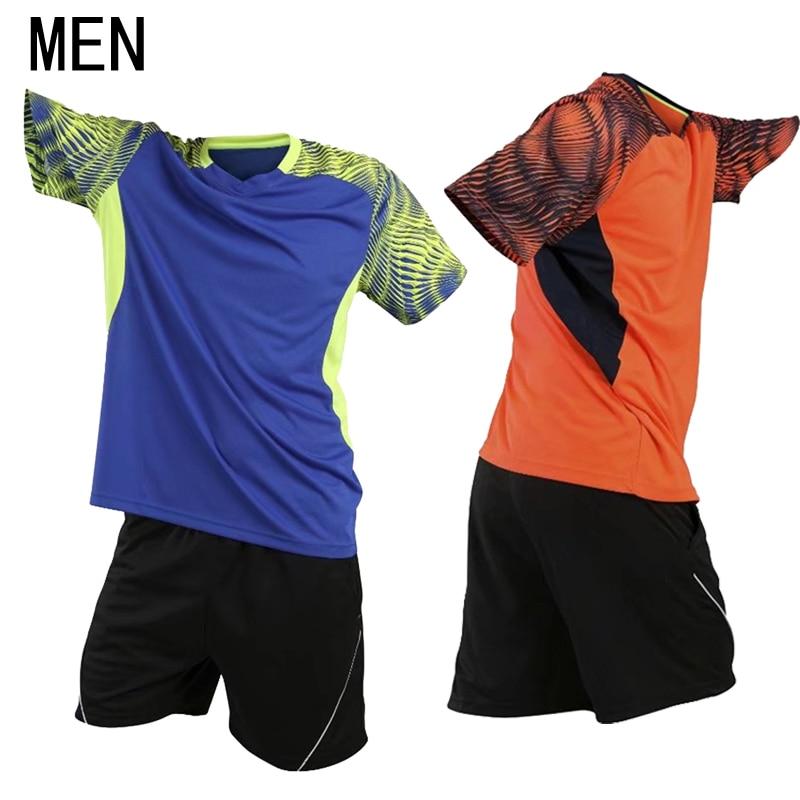 Настольный теннисные майки и короткий комплект новая одежда для бадминтона с