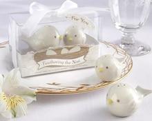 10 juegos de maceta de porcelana para afilar el nido regalo de recuerdo de boda empaquetado con caja de regalo