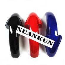 XUANKUN motocicleta EN125 150 GS125 guardabarros delantero Placa de retención de agua