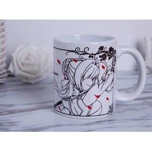 Anime JK Fate EXTRA Fate Grand Order Nero Claudius Saber Bride Cosplay Mug Fgo Ceramic Daily Tea Coffee Drink Mark Cup Gift