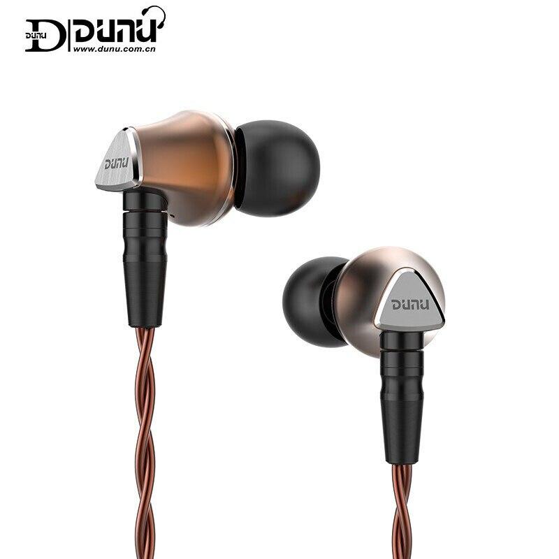 DUNU TITAN 6 Dynamic 12,6mm diafragma de berilio TITAN6 T6 tapones para los oídos de alta fidelidad auriculares deportivos con cable para teléfono móvil