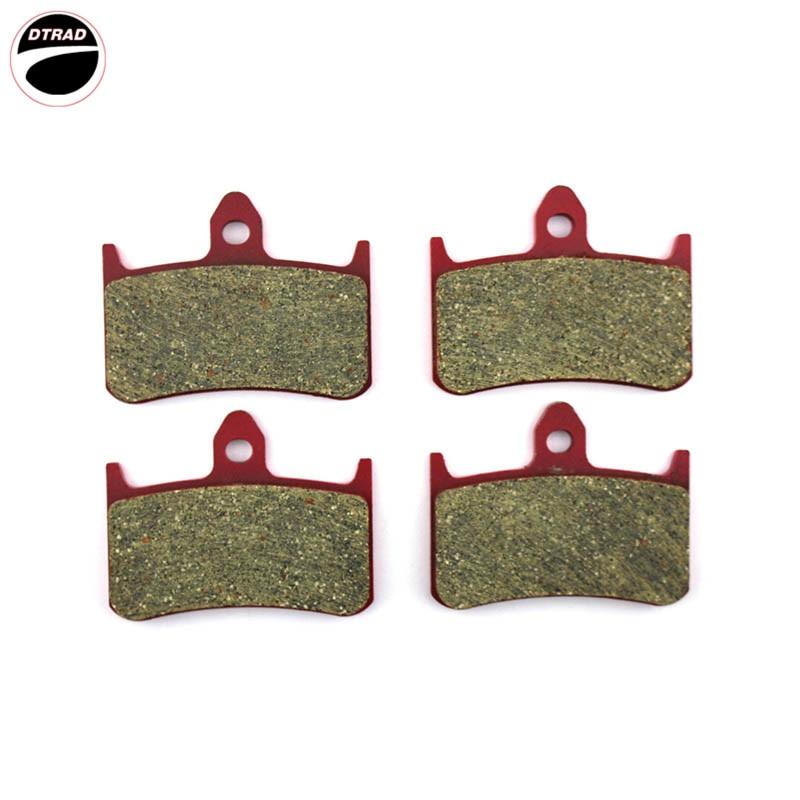 Pastillas de freno de cerámica de carbono para HONDA CB 1000 93-97 NSR 250 R 88-94 RVF 400 RR/RT 94-96 VFR 400 R 89-91
