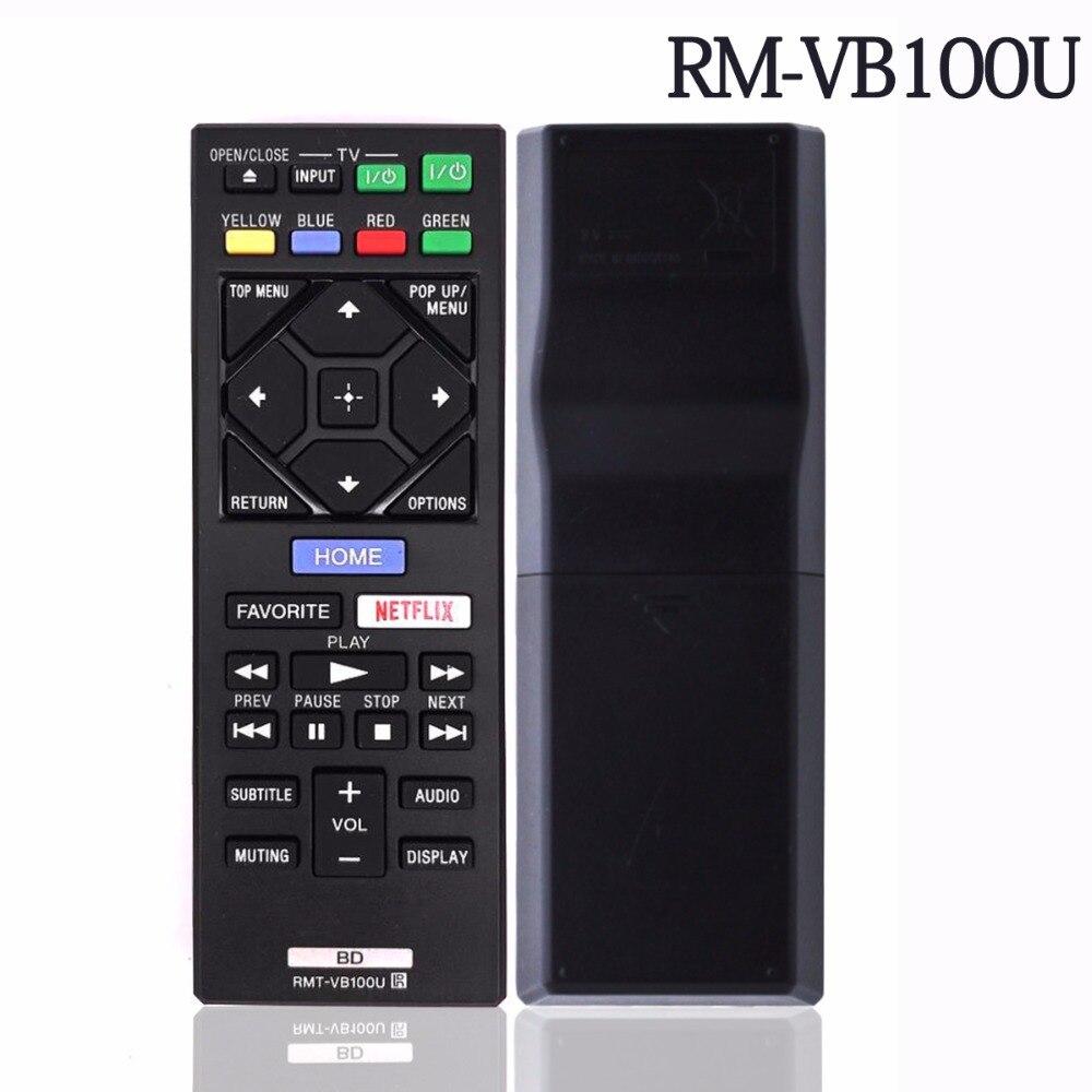 Nuevo control remoto RMT-VB100U para Sony reproductor de Blu-ray DVD BDP-BX620 BDP-S5200...