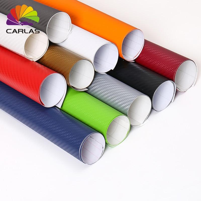 30 см x 100 см 3D углеродное волокно виниловая пленка для автомобиля рулонная пленка наклейки и наклейки для автомобиля аксессуары для стайлинг...