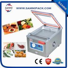 Máquina de envasado al vacío de comida pequeña de una sola cámara
