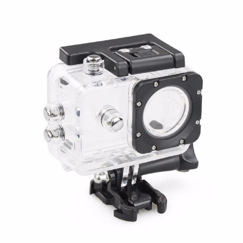 Caja de cámara de acción deportiva, funda carcasa impermeable para accesorios de cámara, SJ4000 SJ4000 + SJ7000 SJCAM con edición negra