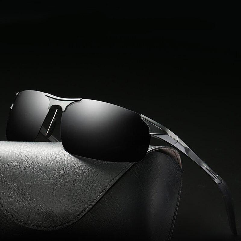 Мужские солнцезащитные очки с поляризационными стеклами, солнцезащитные очки для вождения, UV400, 2019