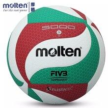 100% Original Molten V5M 5000 ballon de volley-Ball officiel taille 5 volley-Ball avec aiguille à billes professionnel pour Match et entraînement