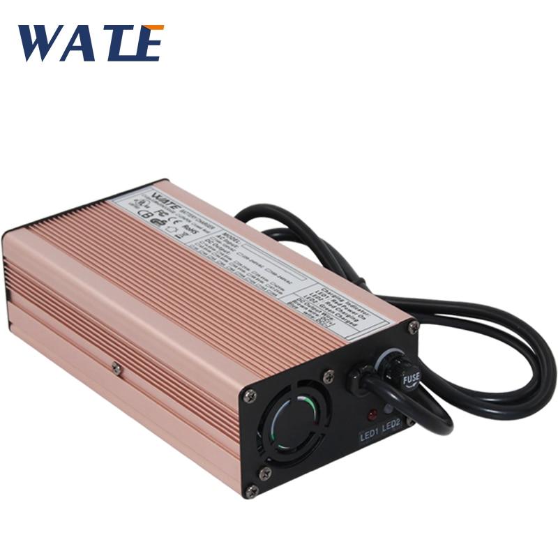Cargador de batería 54,6 v 5a bicicleta 48 v Litio 48 voltios li-ion 54,6 v 5A inteligente para 10Ah 15Ah 48 v 20ah cargador de batería 13s