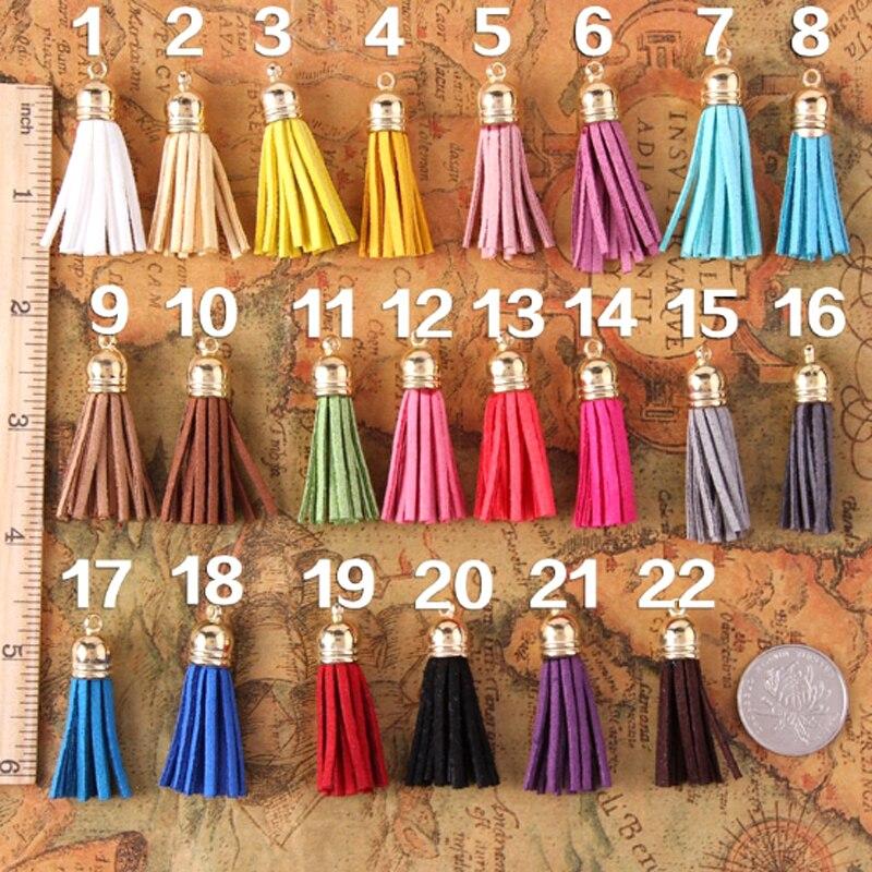 100pcs/lot mini Tassel Frings decorating / scrapbook embellishments tassel