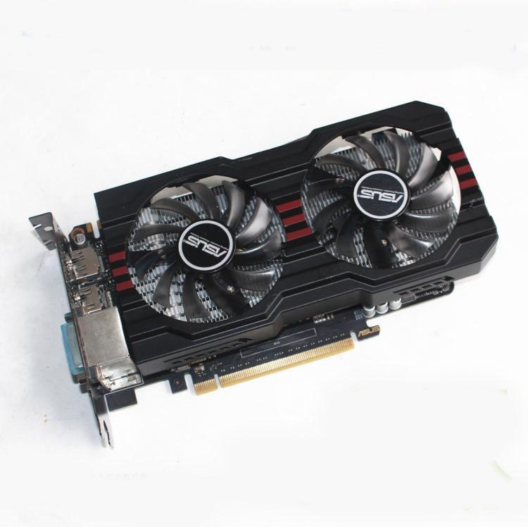 Se original ASUS GTX660-DC2OCPH-2GD5 2G GDDR5 192bit juego tarjeta gráfica 100% probada buena